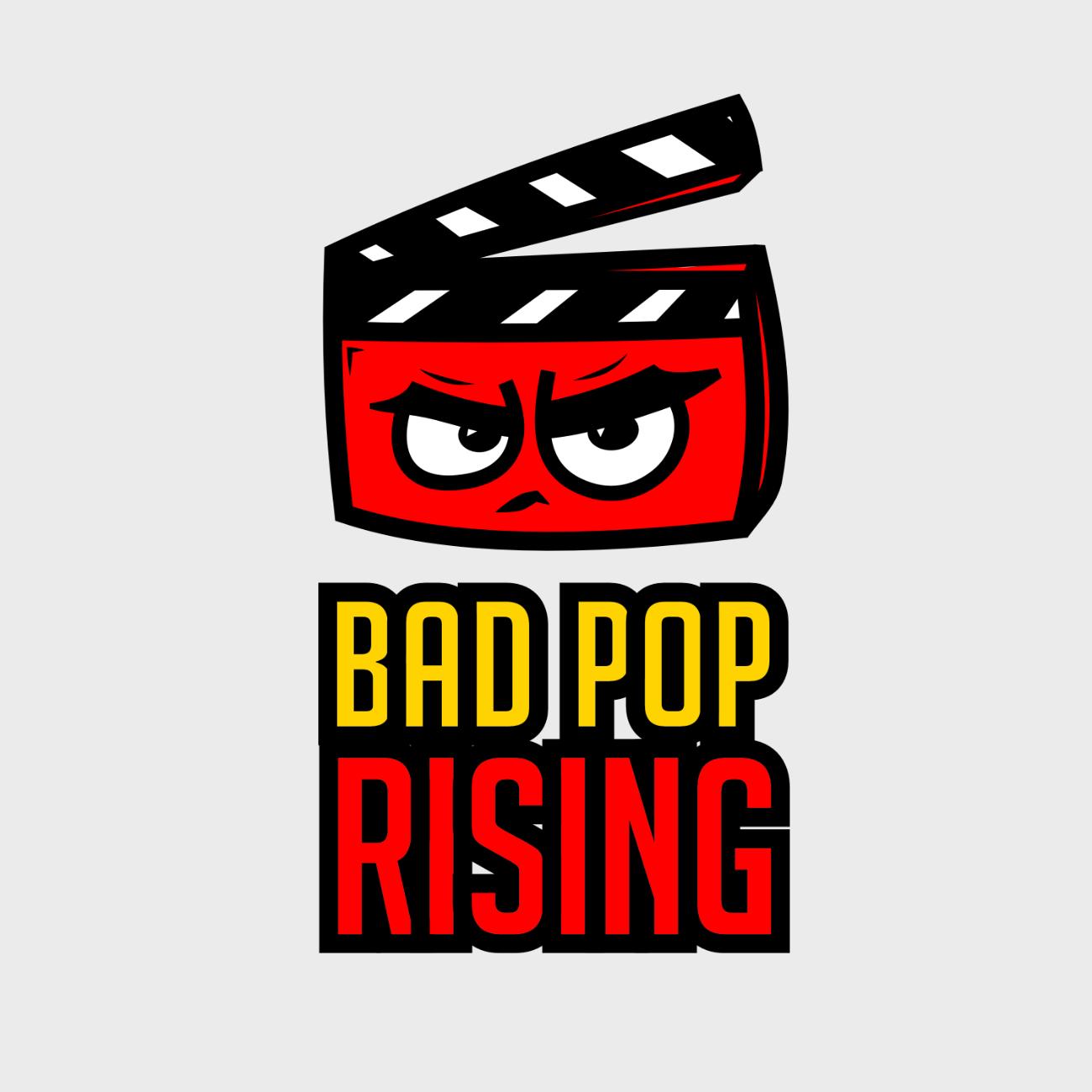 Bad Pop Rising Logo for podcast