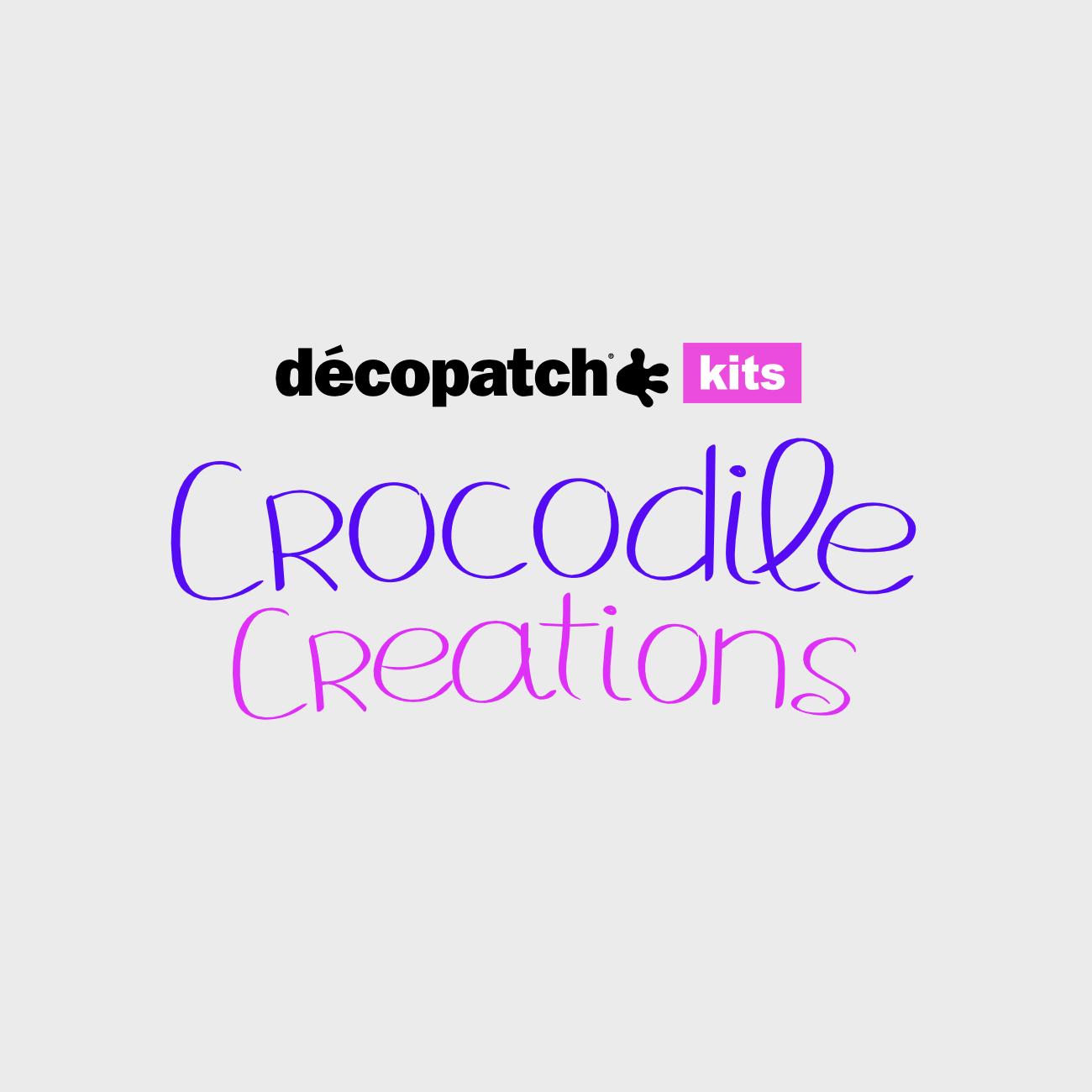 Decopatch Kits Crocodile Creations