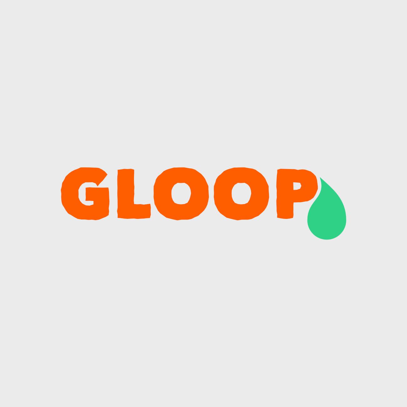 Gloop Logo for UK charity