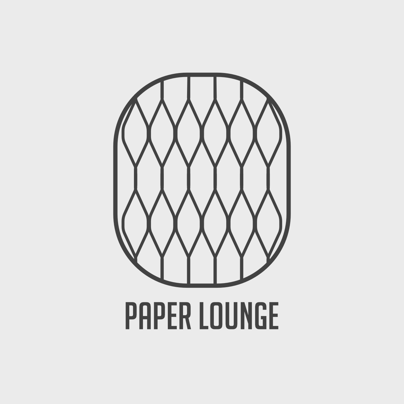 Paper Lounge logo for online store
