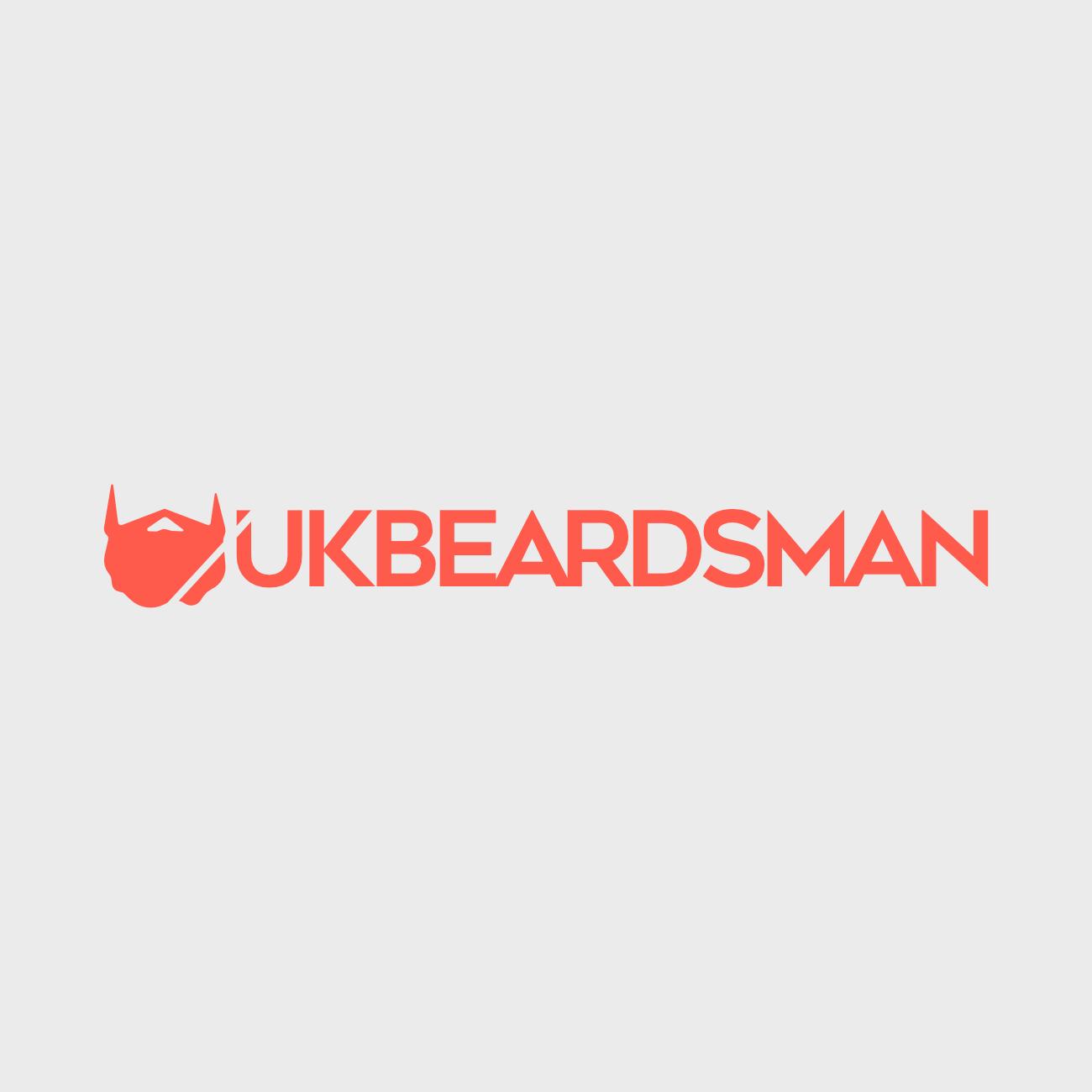 UK Beardsman logo for online blog